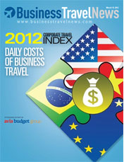 Estimed Daily Costs of Business Travel for 2012